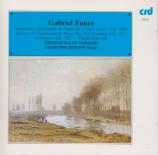 FAURE - Igloi - Sonate pour violoncelle et piano n°1 en ré mineur op.109