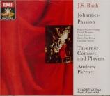BACH - Parrott - Passion selon St Jean(Johannes-Passion), pour solistes