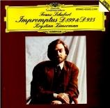 SCHUBERT - Zimerman - Quatre impromptus, pour piano op.posth.142 D.935