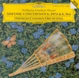 MOZART - Orpheus Chamber - Sinfonia concertante pour violon, alto et orc
