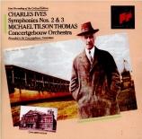 IVES - Tilson Thomas - Symphonie n°2