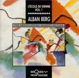 BERG - Arditti String - Quatuor à cordes op.3