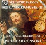 Deutsche Barock Kammermusik Vol.2
