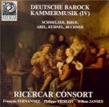 Deutsche Barock Kammermusik Vol.4
