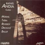 MURAIL - Andia - Tellur, pour guitare