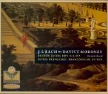 BACH - Moroney - Six suites françaises BWV 812-817
