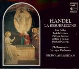 HAENDEL - McGegan - La resurrezione, oratorio HWV.47