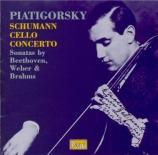 SCHUMANN - Piatigorsky - Concerto pour violoncelle et orchestre en la mi