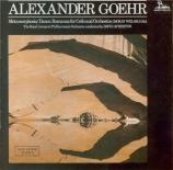 GOEHR - Atherton - Metamorphosis - Dance op.36