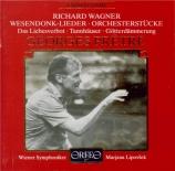 WAGNER - Lipovsek - Wesendonck-Lieder, pour voix et piano WWV.91a