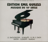 BACH - Gilels - Prélude et fugue pour orgue en ré majeur BWV.532