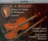 L'oeuvre pour violon & orchestre