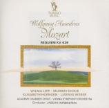 MOZART - Horenstein - Requiem pour solistes, chœur et orchestre en ré mi