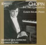 CHOPIN - Indjic - Concerto pour piano et orchestre n°1 en mi mineur op.1