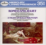 PROKOFIEV - Skrowaczewski - Roméo et Juliette, suite symphonique n°1 pou