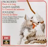 PROKOFIEV - Markevitch - Pierre et le loup, conte symphonique pour enfan