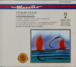 VIVALDI - Malgoire - Gloria en ré majeur, pour solistes, chœur, trompett