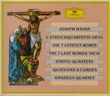 HAYDN - Amadeus Quartet - Les sept dernières paroles du Christ sur la cr