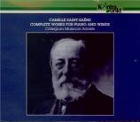 Intégrale de l'oeuvre pour piano et instruments à vents