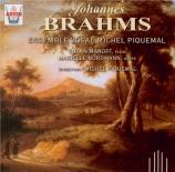 BRAHMS - Ensemble Vocal - Sehnsucht (Kugler), quatuor vocal pour voix m