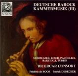 Deutsche Barock Kammermusik Vol.3