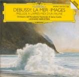 DEBUSSY - Bernstein - La mer, trois esquisses symphoniques pour orchestr