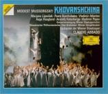 MOUSSORGSKY - Abbado - La Khovantchina