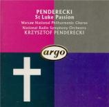 Passion selon Saint-Luc