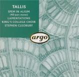 TALLIS - Cleobury - Spem in Alium