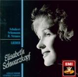 SCHUBERT - Schwarzkopf - Die Vögel (Schlegel), lied pour voix et piano o