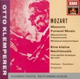 MOZART - Klemperer - Sérénade n°13, pour orchestre en sol majeur K.525 '