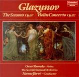 GLAZUNOV - Järvi - Les saisons op.67