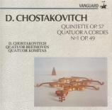 CHOSTAKOVITCH - Quatuor Komitas - Quintette avec piano op.57
