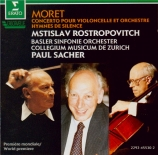 MORET - Rostropovich - Concerto pour violoncelle