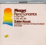 MOZART - Kocsis - Concerto pour piano et orchestre n°6 en si bémol majeu