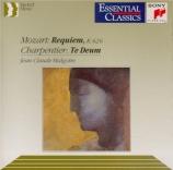 MOZART - Malgoire - Requiem pour solistes, chœur et orchestre en ré mine