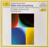 MOUSSORGSKY - Berman - Tableaux d'une exposition, pour piano