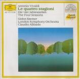 VIVALDI - Abbado - Le quattro stagioni (Les quatre saisons) op.8