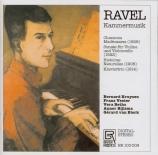 RAVEL - Kruysen - Chansons madécasses, trois mélodies pour soprano avec