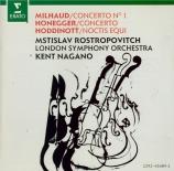 MILHAUD - Nagano - Concerto pour violoncelle n°1 op.136