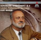 SCHUMANN - Masur - Symphonie n°1 pour orchestre en si bémol majeur op.38