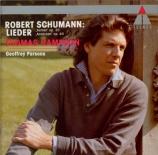 SCHUMANN - Hampson - Fünf Lieder (Andersen - Chamisso), pour une voix et p