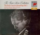 Early Concerto Recordings Vol.2