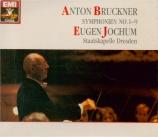 BRUCKNER - Jochum - Symphonie n°1 en ut mineur WAB 101