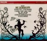 MOZART - Marriner - Die Zauberflöte (La flûte enchantée), opéra en deux
