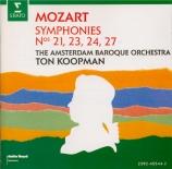 MOZART - Koopman - Symphonie n°23 en ré majeur K.181 (K6.162b) 'La fiera