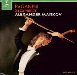 PAGANINI - Markov - Vingt-quatre caprices pour violon op.1 MS.25