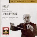 SIBELIUS - Toscanini - Symphonie n°2 op.43
