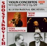 CHOSTAKOVITCH - Mordkovitch - Concerto pour violon et orchestre n°1 en l
