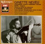 CHAUSSON - Neveu - Poème pour violon et orchestre op.25